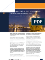 HFW and LL Article Western Australia Port Development A4 4pp May 2012
