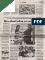 El Duende Del Baile.el Norte de Castilla.noveimbre 2007