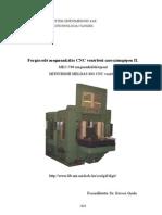 Forgácsoló megmunkálás CNC vezérlésű szerszámgépen II