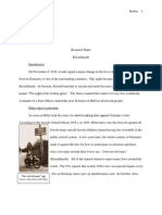 Kristallnacht Research Paper