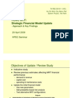 HCMC MRT Strategic Financial Model Update