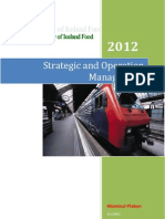 Strategic Operation Management (Case Study of Iceland)