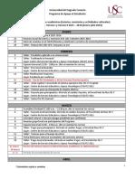Calendario Servicios Académicos