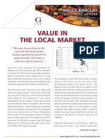 Value in local the market