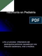 Neumonía en Pediatría