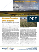 Pasture Cropping
