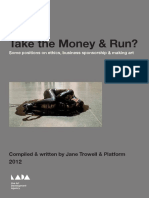 Take the Money & Run? - Some positions on ethics, business sponsorship & making art