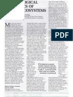 Economics of Fynbos Ecosystems