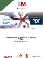 Infraestructuras de transporte terrestre en Bulgaria