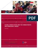 Global Swing States and the Human Rights and Democracy Order