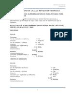 IHS Memoria de Cálculo Centro de Convencion
