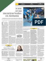 Dos Peruanos Son Premiados Por Sus Iniciativas Verdes en Alemania