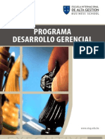 Diplomado en Desarrollo Gerencial