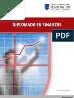 Diplomado en Finanzas Brochure