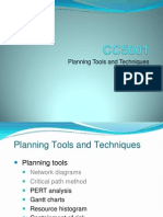 CC5001 Planning Tools Part 2 2012