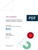 Engage for Success - Nailing the Evidence