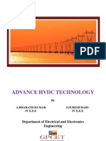 Advanced HVDC Technology
