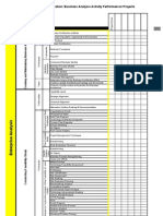 CBAP Assessment Template