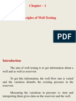 Well Test Analysis Objective,Way