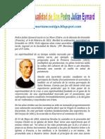 LA ESPIRITUALIDAD DE SAN PADRO JULIÁN EYMARD | ALIANZA DE AMOR