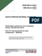 NRS 052-2-2 - Fotovoltaico