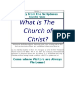 About the Church of Christ