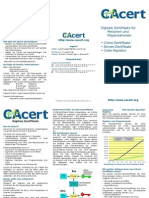 CAcert Flyer