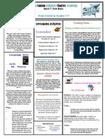 Newsletter 11.9.12