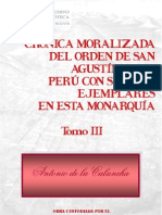 Cronic- Antonio de La Calancha