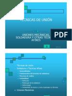 T7.TECNICAS DE UNIÓN