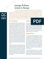 The Jipange KuSave Experiment in Kenya