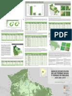Mapa de Deforestación de las Tierras Bajas y Yungas de Bolivia 2000-2005-2010