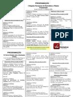 Folder Simposio Flores e Arborização Urbana 2012