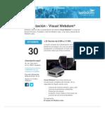 Presentación - Visual Webdom 30-11-2012