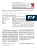 The New Nitric Oxide Donor 2-Nitrate-1,3-Dibuthoxypropan Alters Autonomic Function