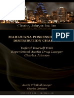 MarijuanaPossessionandDistributionChargesDefendYourselfWithExperiencedAustinDrugLawyerCharlesJohnson
