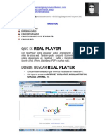 Como Utilizar REAL PLAYER