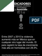 Presentación México Evalúa Homicidios