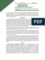 ACUERDO por el que se modifica el Manual Administrativo de Aplicación General en Materia de Adquisiciones, Arrendamientos y Servicios del Sector Público