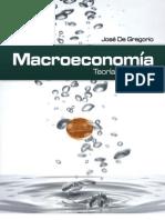 Macroeconomia Jose de Gregorio