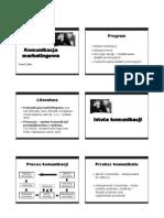 Promocja i Reklama - Istota Komunikacji i Promocji - Materialy