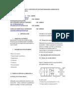 Ensayos de Circuito Abierto y Cortocircuito en Trasformadores Monofasicos
