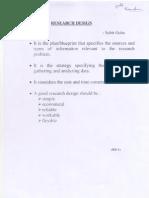 Research Design (Shiv)