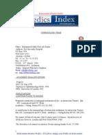 Dr Mohammed Salih Noor Ali Sunba - Medics Index Member Profile