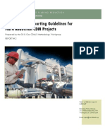 Monitoring Reporting Guidelines GGFR
