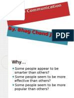 Effective Communication BY BHAG CHAND JAT