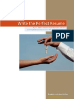 Write the Perfect Resume