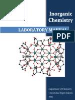 Inorganic Laboratory Manual