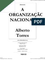 Alberto Torres - A Organização Nacional