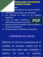 Curso de Costos de Producción con Enfoque de Productividad 15-07-11